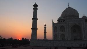 Taj Mahal Sonnenuntergang