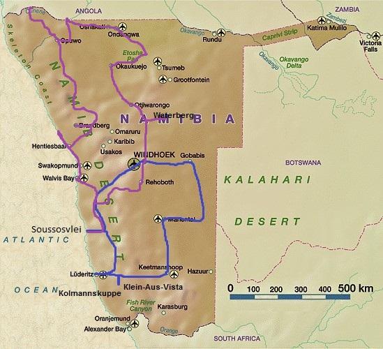 Namib Wüste Karte.Namib Wüste Gerti S On The Road