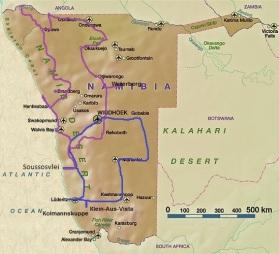 Landkarte-Namibia-Conny