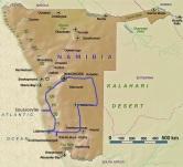 Landkarte-Namibia-Südtrip