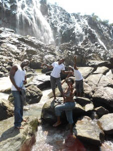 Ruacana Falls