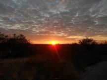 Etosha Sonnenaufgang