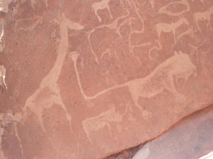 Twyfelfontein - Wandmalereien